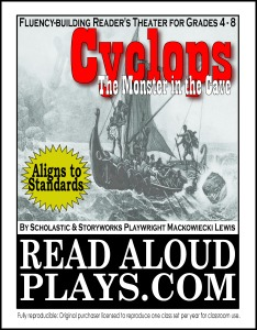 Cyclops The Odyssey readers theater play script for kids