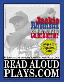 Jackie Robinson Baseball Color Barrier readers theater play script
