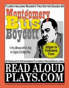"""Montgomery Bus Boyoctt"" MLK readers theater play script"