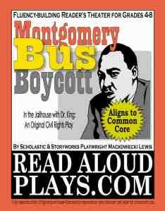 MLK Montgomery Bus Boycott readers theater play script
