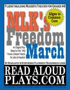 Martin Luther King readers theater play script