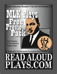 MLK Free Preview Pack of readers theater scripts by Mack Lewis