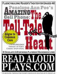 Modernized-version-of-Poe's-Tell-Tale-Heart readers theater play script