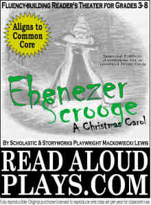 Dickens Ebenezer Scrooge A Christmas Carol readers theater play scDickens-Gabriel-Grub classic readers theater play script