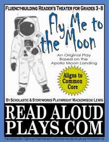Click to preview Apollo 11 Moonwalk readers theater play script