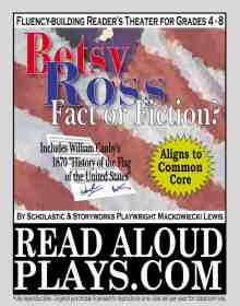 Betsy Ross American Flag reader's theatre play script