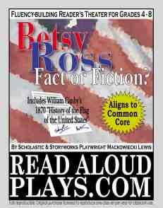 Betsy Ross Read Aloud Play script