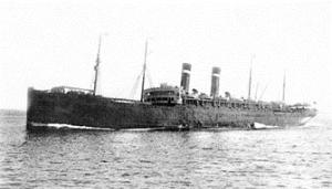 Vaderland ship carrying immigrants from Poland and Russia