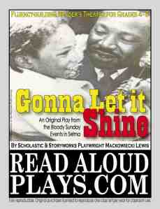 Dr. King Selma March readers theater play script