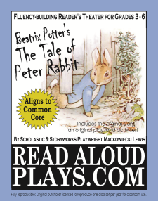 Peter Rabbit readers theater play script